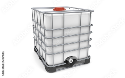 Plastic bulk with metallic cage - 78041885