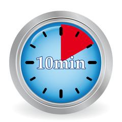 10 MINUTES ICON
