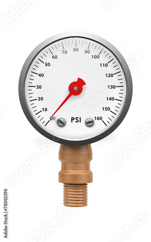 Leinwandbild Motiv Pressure gauge