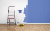 Painting an empty room