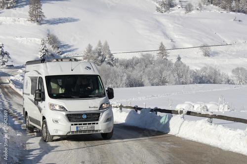 Campingreise Winter - 78042869