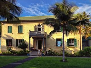 Hulihe'e Palace, Kailua Kona, the Big Island of Hawaii, USA