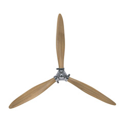 aircraft engine wooden propeller
