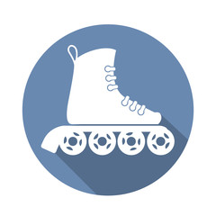 roller_skate_icon_with_a_long_shadow_on_white