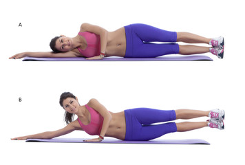 Side-lying hip raise