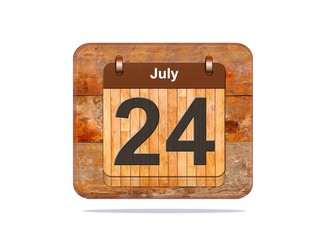 July 24.