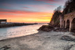 Sunrise at Looe in Cornwall