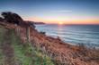 South West Coast Path at Lantivet Bay