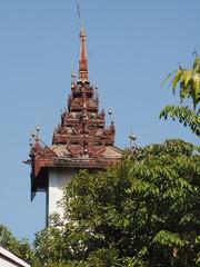 Monasterio budista de Mahagandaryon en Birmania