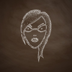 face girl icon