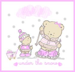 cute snow