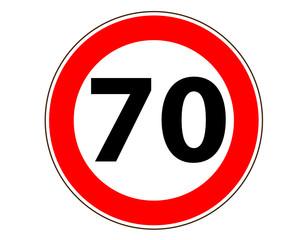 70 Verkehrszeichen symbol