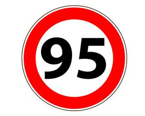 95 Verkehrszeichen
