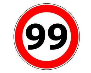 99 Verkehrszeichen Symbol