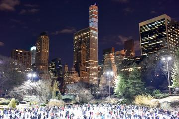 Central Park Skating Rink, New York © demerzel21