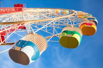 Luna park wheel arch in Sydney, Australia.