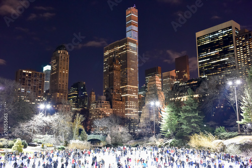 Foto op Plexiglas New York City Central Park Skating Rink, New York