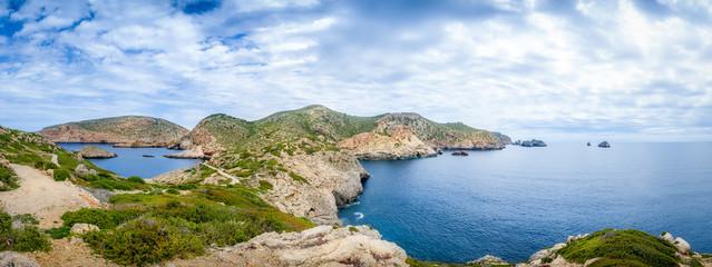 Cabrera island panorama