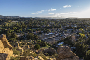 Los Angeles Stoney Point View