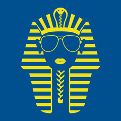 Pharaoh in sunglasses