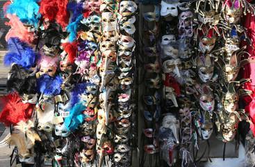 venice Saint Mark's Square many maskes on sale
