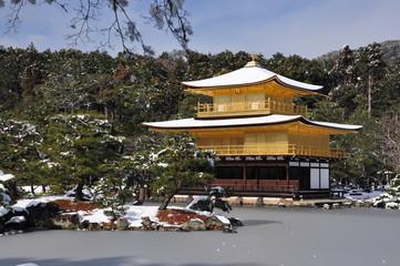 golden kinkakuji temple in kyoto