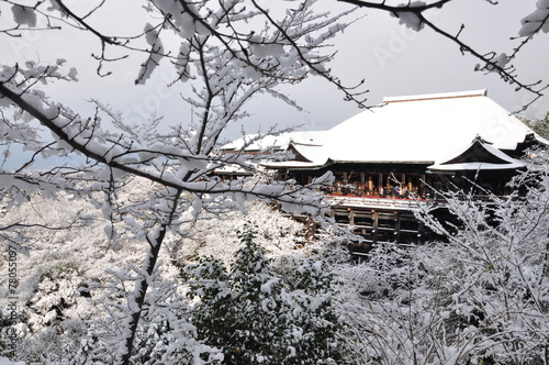 Foto op Plexiglas Japan Kiyomizu-dera during winter time in Kyoto
