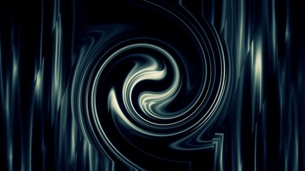 blue background with vertical lines and swirl, loop
