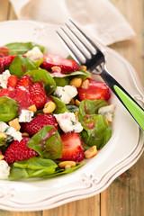 Spinach salad.