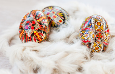 Traditional Romanian Easter eggs
