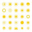 Sun Icons - 78059612