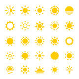 Sun Icons poster