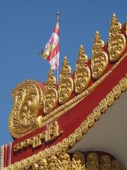Templo budista de Mahagandaryon en Myanmar