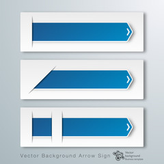 Infographics Vector Background #Paper Arrows