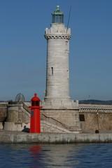 phare sainte-marie au port de Marseille
