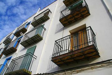 balcons en céramique à Peniscola