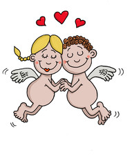 Angels are in love