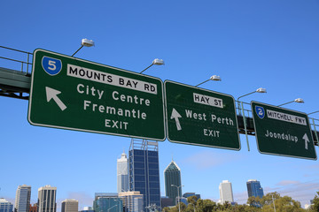Perth. Westaustralien