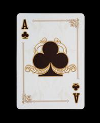 Spielkarten - Poker - Keuz Ass im Spiel