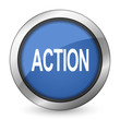 canvas print picture - action icon