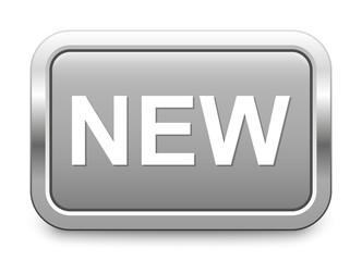 NEW – light gray metallic button