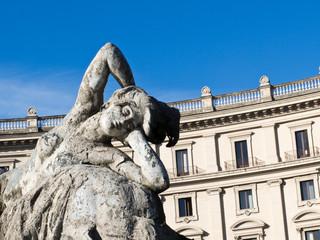 Fountain of the Naiads, Rome, Italy