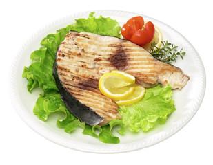 Pesce spada grigliato