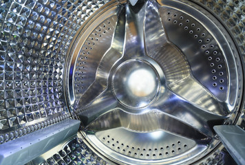 Stainless steel drum of a washing machine