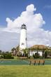 Lighthouse on St. George Island near Apalachicola, Florida, USA