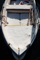 neve sulla barca