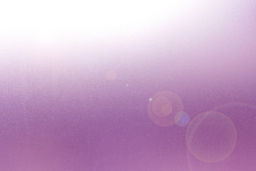 Frosted glass Magenta color with Lens Flare