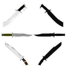 combat knives