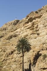 Desert canyon of Wadi Kelt