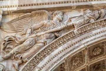 Roman Forum - Arch of Septimius Severus - fragment